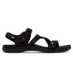 New Balance Black Maya Leather Sandal
